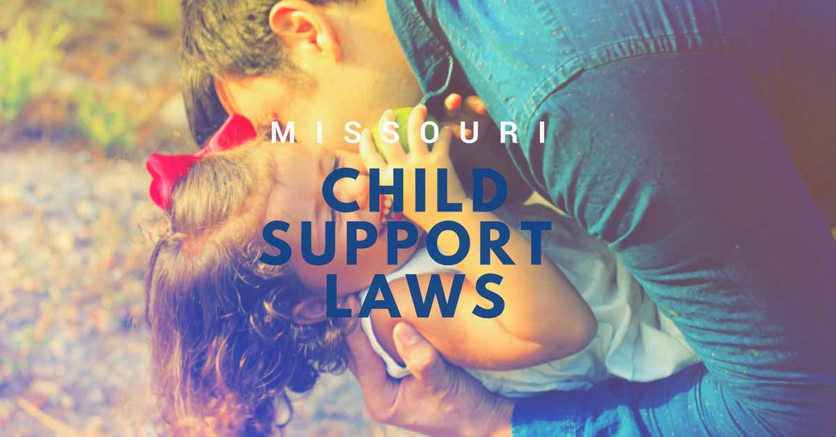 Missouri Child Support Laws Header